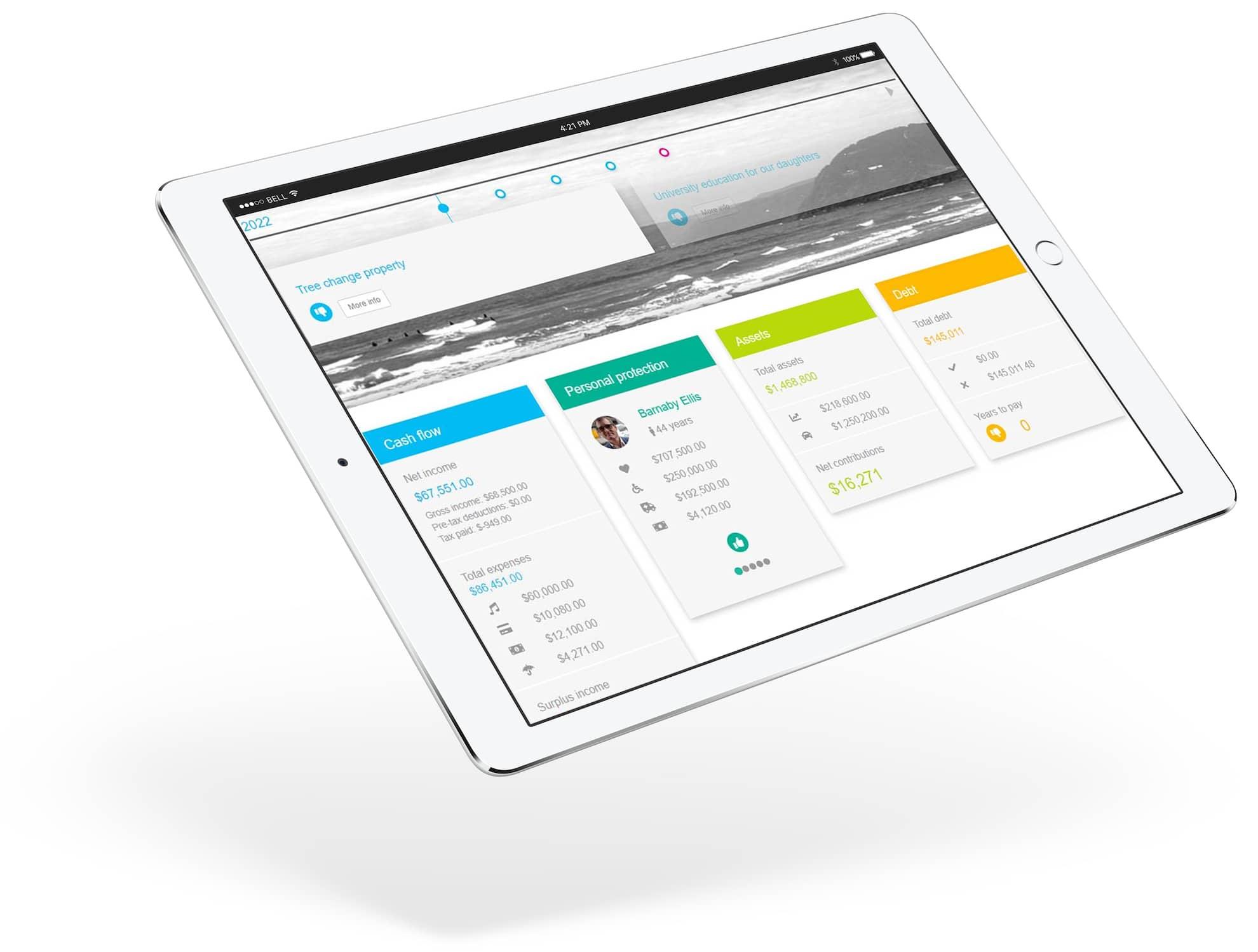 miPlan Client Portal with FinPal
